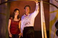 "EMMY ROSSUM as Jennifer Ramsey and KURT RUSSELL as Robert Ramsey in Warner Bros. Pictures' and Virtual Studios' action adventure ""Poseidon."""