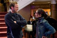 "JOSH LUCAS as Dylan Johns and MIA MAESTRO as Elena in Warner Bros. Pictures' and Virtual Studios' action adventure ""Poseidon."""