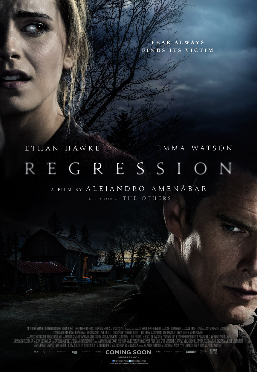 Regression Large Poster