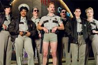 The men and women of the Reno Sheriff's Department, on special assignment in Miami, check out the nighttime scene. From left: Trudy Wiegel (Kerri Kenney-Silver), Raineesha Williams (Niecy Nash), James Garcia (Carlos Alazraqui), Jim Dangle (Thomas Lennon), Travis Junior (Robert Ben Garant), Cherisha Kimball (Mary Birdsong) and Clementine Johnson (Wendi McLendon-Covey).