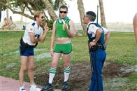 "In Miami, Lt. Jim Dangle (Thomas Lennon, left) and Dep. Travis Junior (Robert Ben Garant) encounter an old ""friend"" from Reno: Terry (Nick Swardson)."