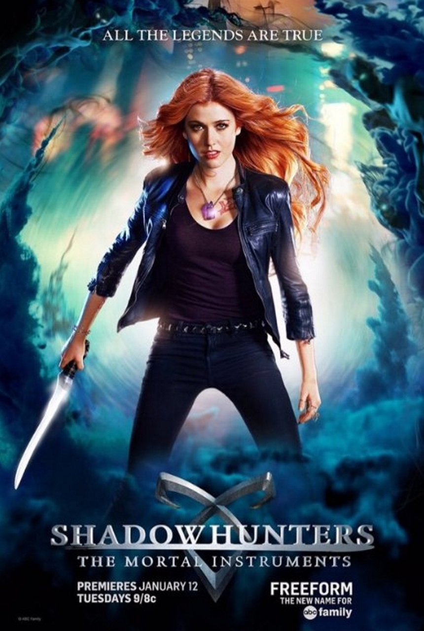 Shadowhunters: The Mortal Instruments (Netflix) Large Poster