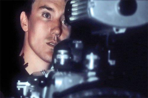 <i>Sharkwater's</i> Rob Stewart behind the camera. - Large