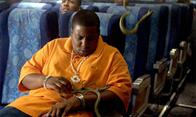 "Kenan Thompson as ""Troy"" in New Line Cinema's intense action feature Snakes On A Plane."