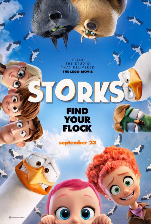 Storks Large Poster