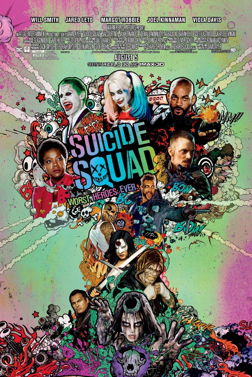 Suicide Squad Large Poster