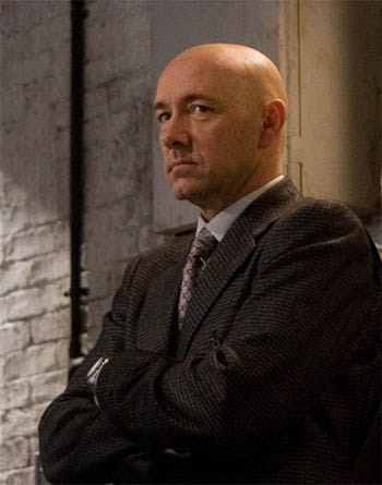 Lex Luthor (KEVIN SPACEY) in a scene from Warner Bros. Pictures' and Legendary Pictures' action adventure, <i>Superman Returns</i>. - Large