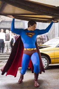 BRANDON ROUTH stars as Superman in Warner Bros. Pictures' and Legendary Pictures' action adventure, <i>Superman Returns</i>.