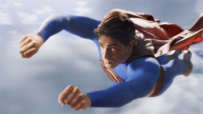 BRANDON ROUTH portrays Superman in Warner Bros. Pictures' and Legendary Pictures' action adventure Superman Returns.  - Large