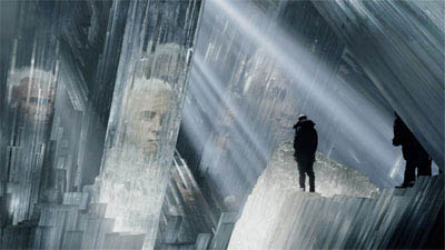 Inside the Fortress of Solitude, Lex Luthor (KEVIN SPACEY) seeks knowledge of Superman's past in Warner Bros. Pictures' and Legendary Pictures' action adventure Superman Returns.
