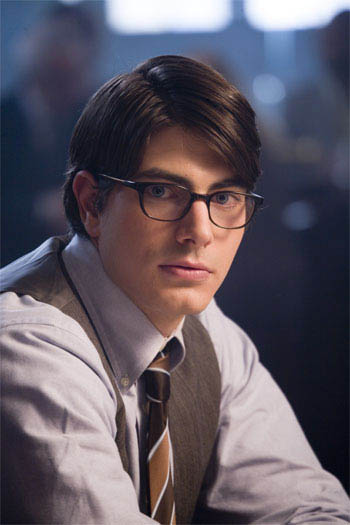 BRANDON ROUTH portrays mild-mannered Daily Planet reporter Clark Kent in Warner Bros. Pictures' and Legendary Pictures' action adventure Superman Returns.  - Large