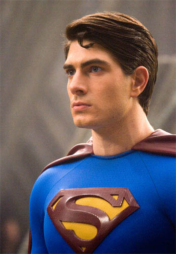 BRANDON ROUTH portrays Kal-El / Clark Kent / Superman in Warner Bros. Pictures' and Legendary Pictures' action adventure Superman Returns.