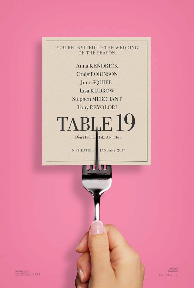 Table 19 Large Poster
