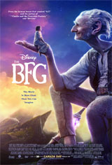 The BFG 3D Movie Poster