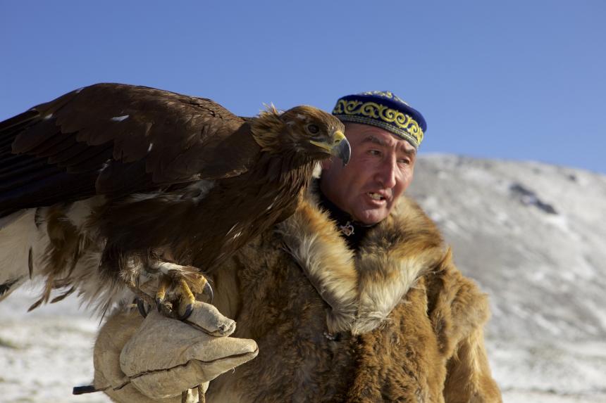 The Eagle Huntress Photo 2 - Large