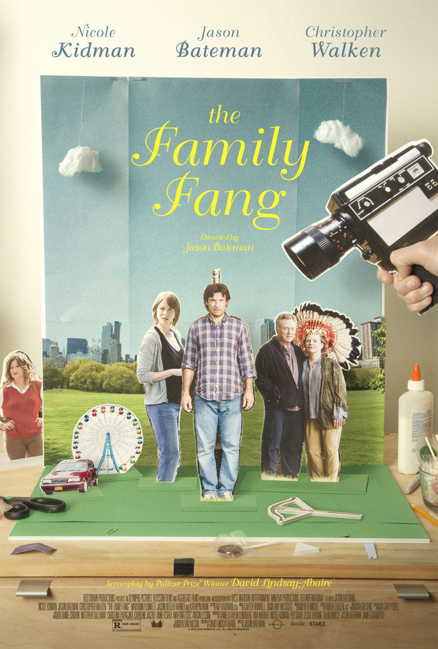 The Family Fang Large Poster