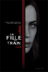 La fille du train Affiche de film