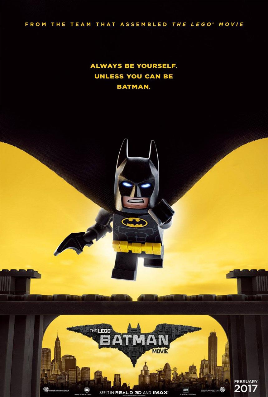 The LEGO Batman Movie Large Poster