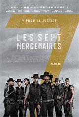 Les sept mercenaires Poster