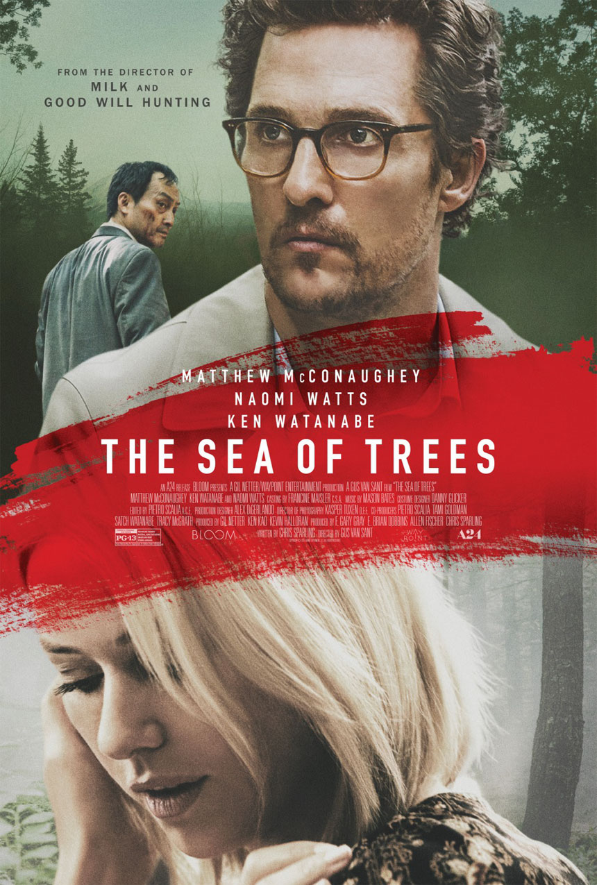 The Sea of Trees Large Poster