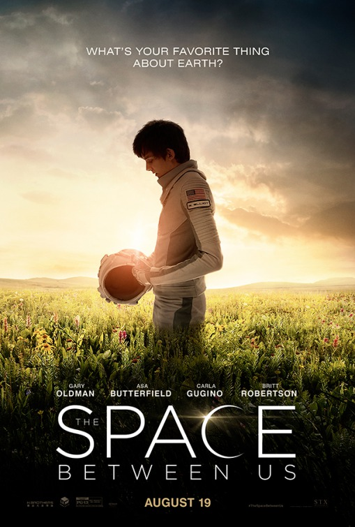 The Space Between Us Large Poster