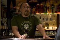 "Gary's best friend, thuggish bar owner Johnny O (JON FAVREAU), in the romantic comedy ""The Break-Up""."