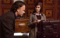 Tom Hanks (l) and Audrey Tautou star in Columbia Pictures' suspense thriller The Da Vinci Code.