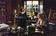 Audrey Tautou (l) and Ian McKellen star in Columbia Pictures' suspense thriller The Da Vinci Code
