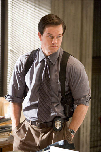 "MARK WAHLBERG stars as Dignam, a Massachusetts State Police sergeant assigned to the undercover unit, in Warner Bros. Pictures' crime drama ""The Departed.""