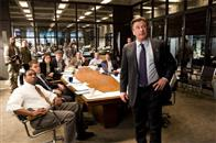 "Captain Ellerby (ALEC BALDWIN) briefs the Special Investigation Unit, including Colin Sullivan (MATT DAMON, seated second from left), about their prime target in Warner Bros. Pictures' crime drama ""The Departed."""
