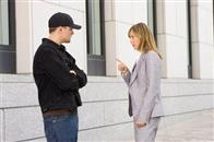 "Unaware of his assignment, Madolyn (VERA FARMIGA) finds herself attracted to undercover cop Billy Costigan (LEONARDO DiCAPRIO) in Warner Bros. Pictures' crime drama ""The Departed."""