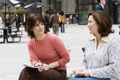 "SANDRA BULLOCK as Kate Forster and WILLEKE VAN AMMELROOY as Kate's mother in Warner Bros. Pictures' and Village Roadshow Pictures' romantic drama ""The Lake House,"" also starring Keanu Reeves.  - Large"