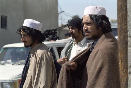 "Riz Ahmed, Farhad Harun and Arfan Usman star at the ""Tipton Three"" in Michael Winterbottom and Mat Whitecross' THE ROAD TO GUANTANAMO. - Large"