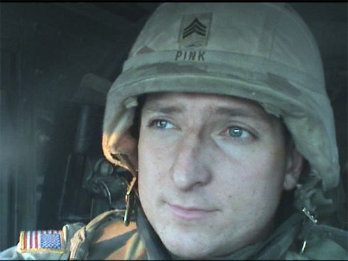 Sergeant Steve Pink. - Large