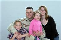 Specialist Mike Moriarty and family.
