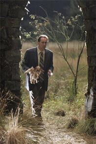 "NICOLAS CAGE stars as Edward Malus in Alcon Entertainment and Millennium Films' ""The Wicker Man,"" distributed by Warner Bros. Pictures. The film also stars Ellen Burstyn."