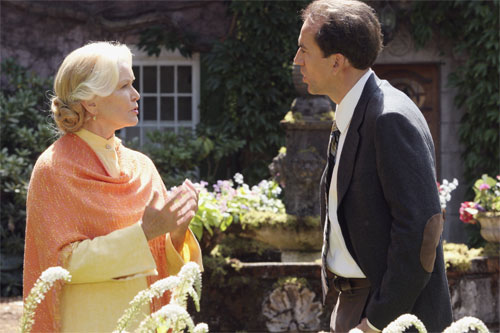 "ELLEN BURSTYN stars as Sister Summersisle and NICOLAS CAGE stars as Edward Malus in Alcon Entertainment and Millennium Films' ""The Wicker Man,"" distributed by Warner Bros. Pictures.