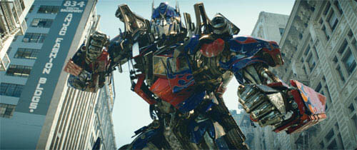 Optimus Prime ready for battle