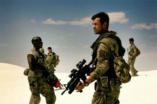 Josh Duhamel and his unit are stranded in the desert