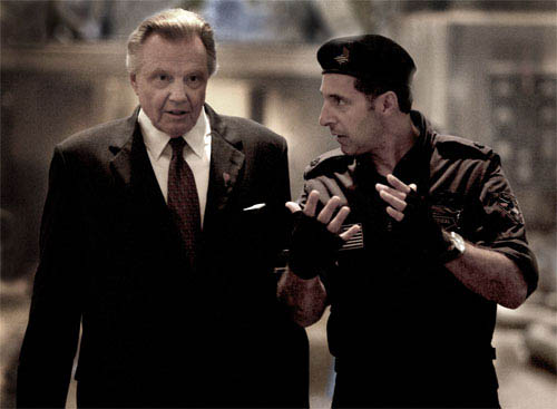 Jon Voight and John Turturro debate the situation