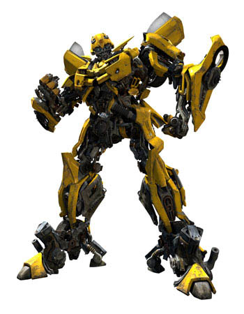 cgi rendering of Bumblebee