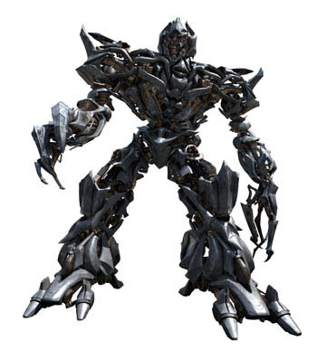 cgi rendering of Megatron