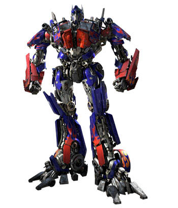 cgi rendering of Optimus Prime