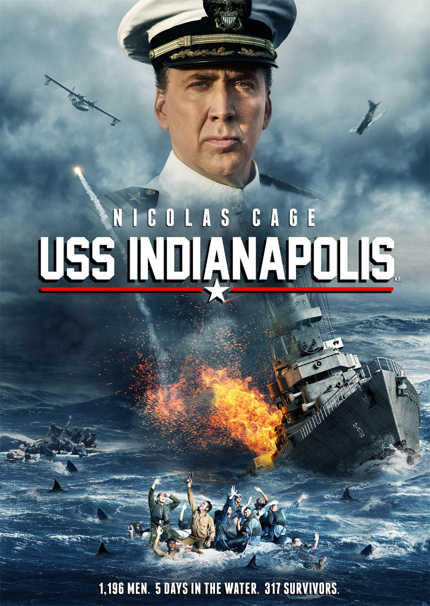 USS Indianapolis Large Poster