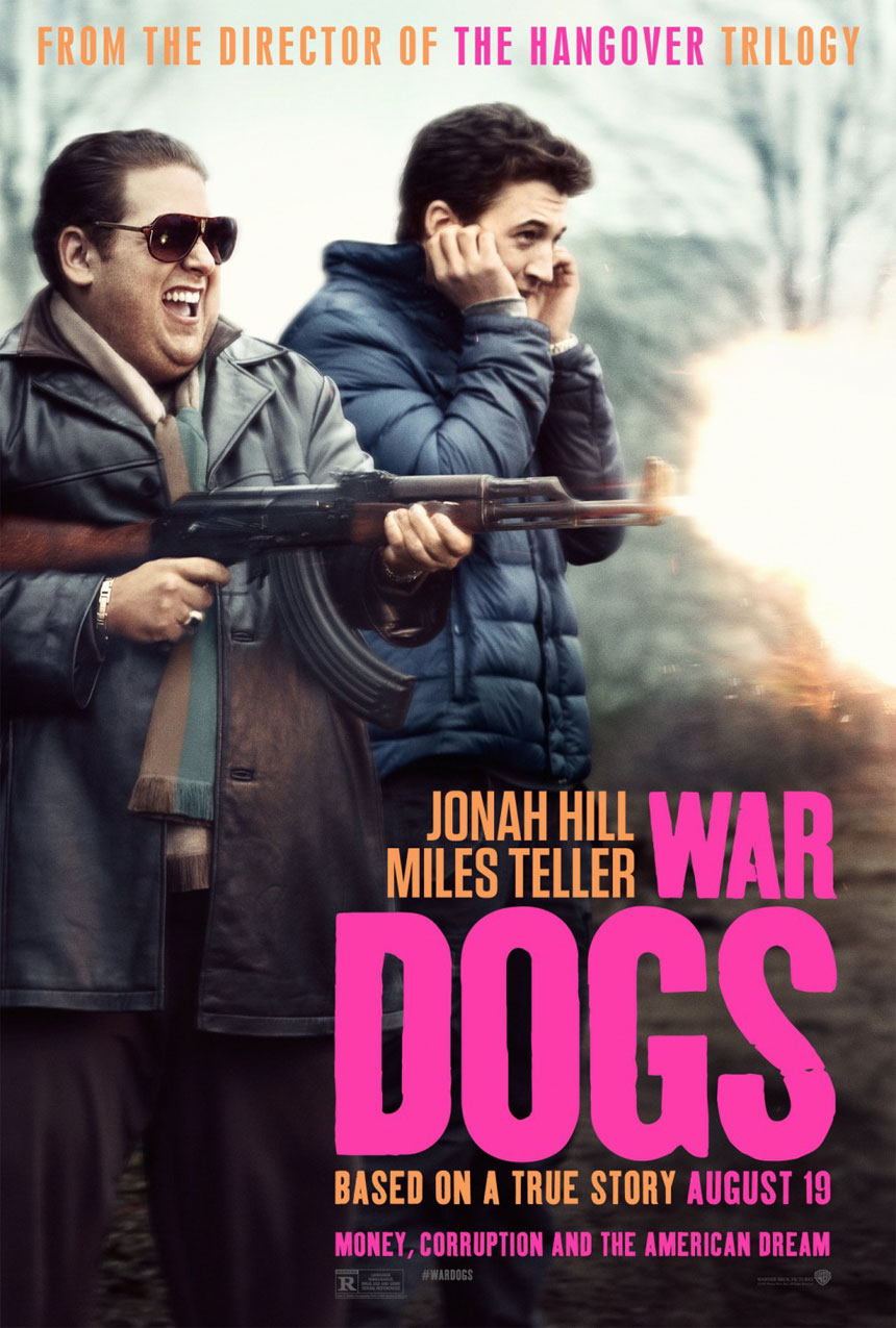 War Dogs Large Poster