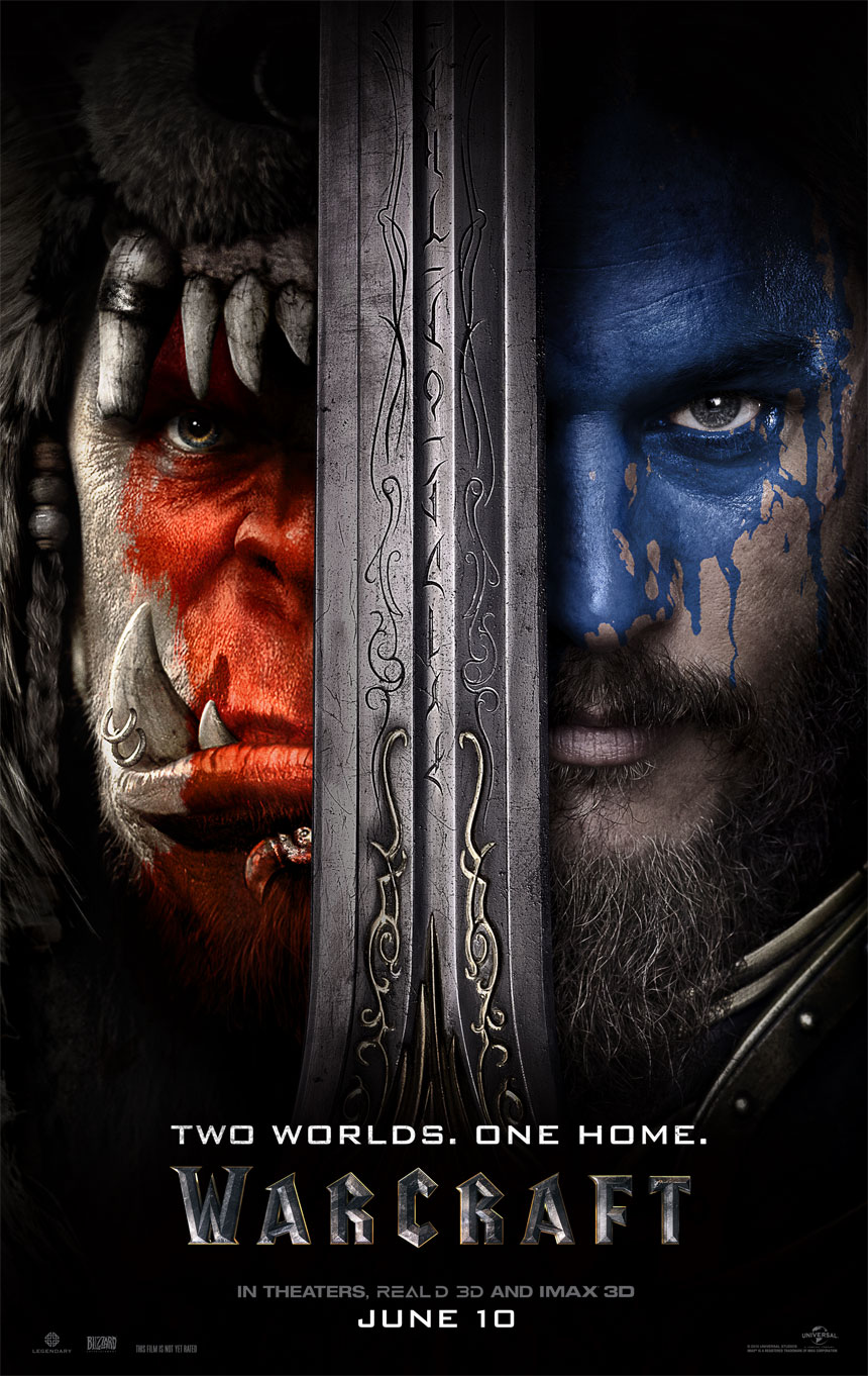 Warcraft Large Poster