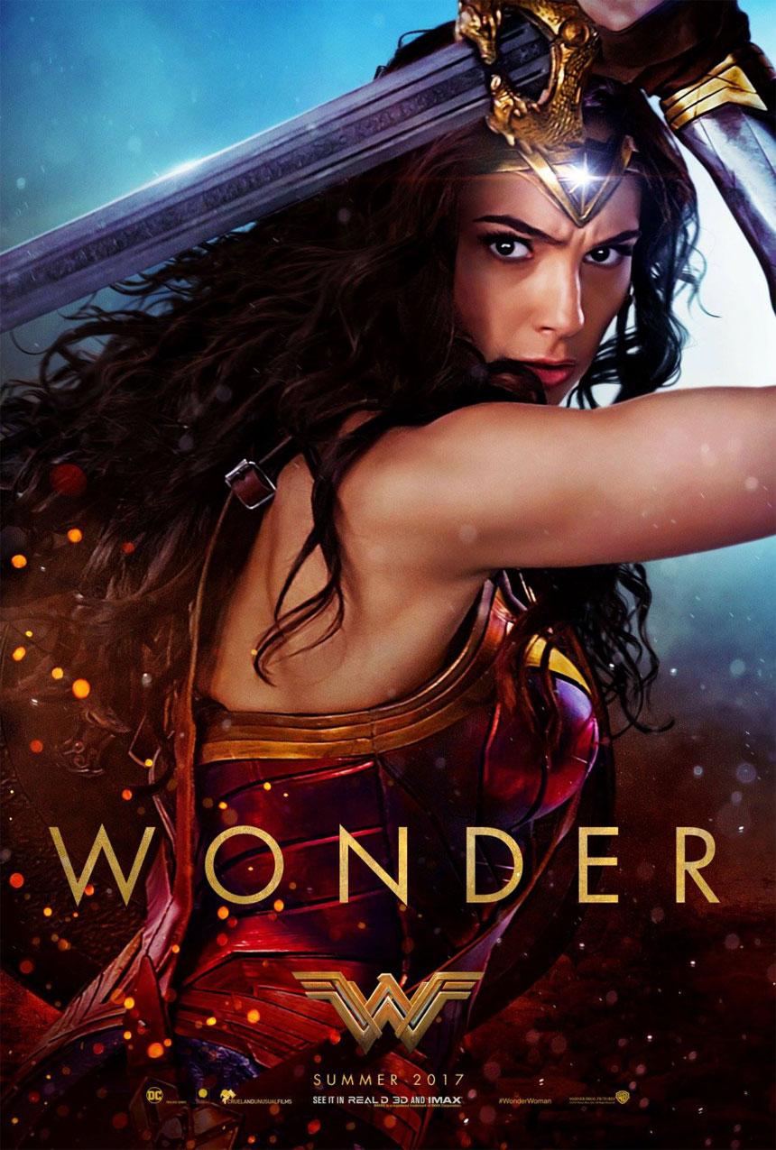Wonder Woman Large Poster