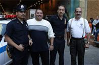In <i>World Trade Center</i>, Academy Award®-winning director Oliver Stone tells the true story of the heroic survival and rescue of two Port Authority policemen - John McLoughlin (right) and Will Jimeno (left) - who were trapped in the rubble of the World Trade Center on September 11, 2001, after they went in to help people escape.