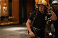 In <i>World Trade Center</i>, Academy Award®-winning director Oliver Stone tells the true story of the heroic survival and rescue of two Port Authority policemen - John McLoughlin and Will Jimeno - who were trapped in the rubble of the World Trade Center on September 11, 2001, after they went in to help people escape.  Other officers serving with them - including Dominick Pezzulo (Jay Hernandez, pictured) - joined them as they entered the buildings.