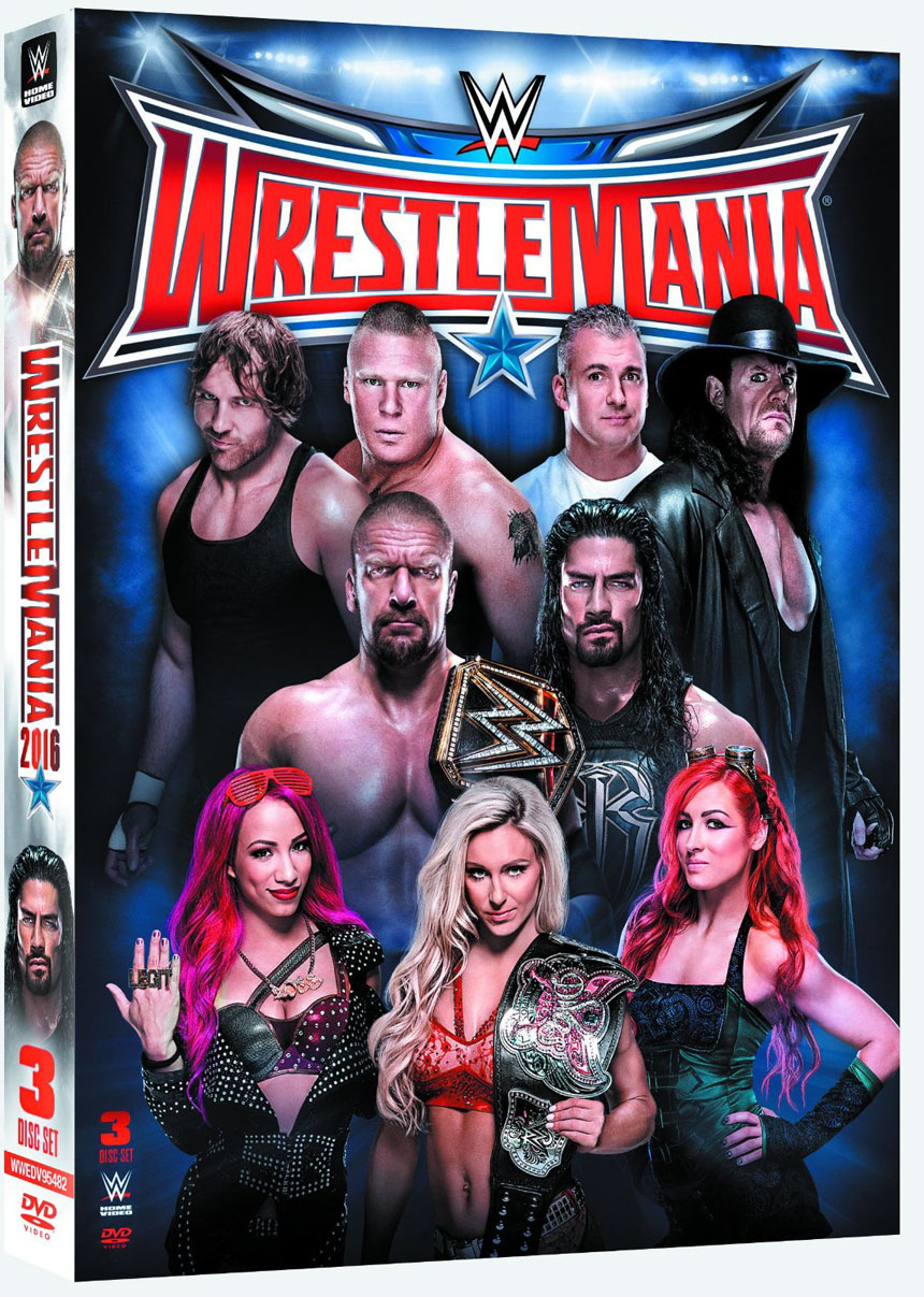 WrestleMania 32 Large Poster